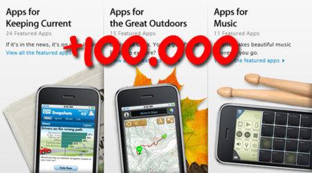 La AppStore supera las 100.000 aplicaciones