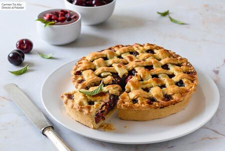 Cherry pie: receta de la clásica tarta americana de cerezas