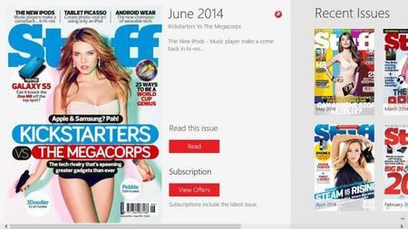 Stuff Magazine ya tiene aplicación oficial para Windows 8/RT