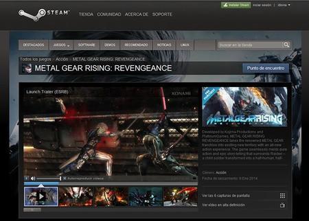 Fecha y precios de Metal Gear Rising 02