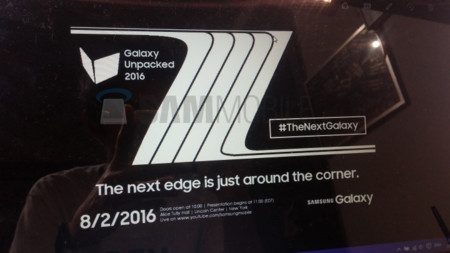 Samsung Galaxy Note 7 Edge 2 Agosto