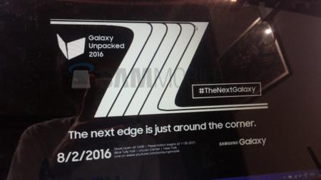 Samsung Galaxy Note 7 Edge 2 Agosto
