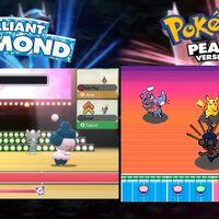 Pokémon Diamante Brillante y Perla Reluciente frente a los juegos originales de Nintendo DS en un vídeo comparativo de su último tráiler