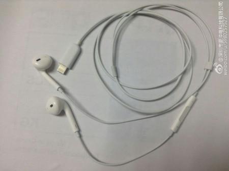 Estos podrían ser los audífonos con conector Lightning para el nuevo iPhone