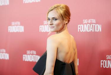 Los looks complicados son la especialidad de Diane Kruger, ¡cómo me gusta esta chica!