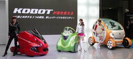 TMSUK y Kowa sorprenden con tres prototipos eléctricos futuristas