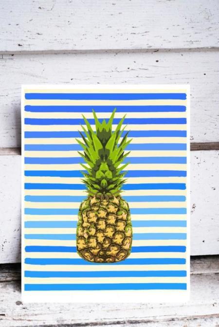 Esto de las piñas y el estilo tropical... ¡se nos está yendo de las manos!