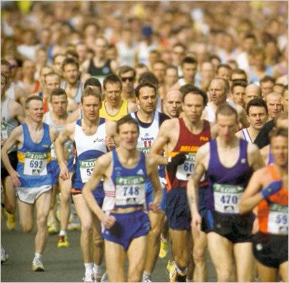 Preparativos para correr una maratón