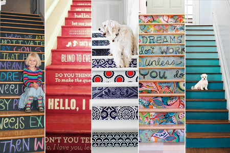 Cinco originales formas de decorar tu escalera