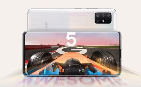 El Samsung Galaxy A71 5G comienza a actualizarse a Android 11 con One UI 3.0