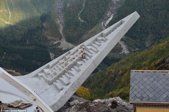 El mirador panorámico más espectacular del mundo se inaugurará en Noruega