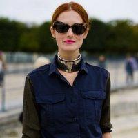 Rígidas, metálicas y para llevar encima de tus camisas: así son las gargantillas de moda