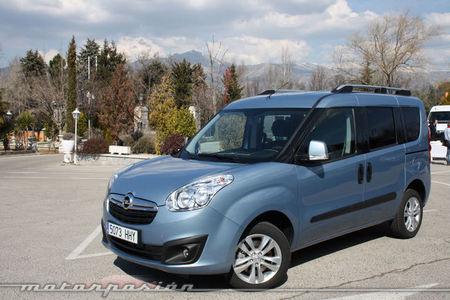 Opel Combo, presentación y prueba en Madrid (parte 2)