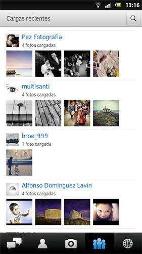Flickr actualiza su aplicación para Android abriéndola a cualquier cámara