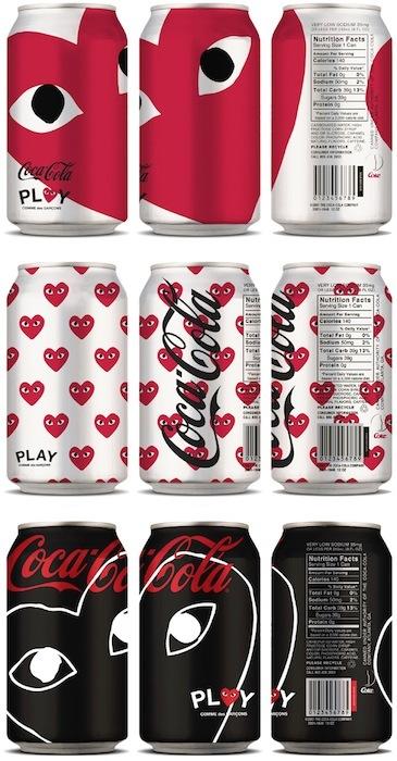 Coca-Cola con diseño de Comme des Garçons