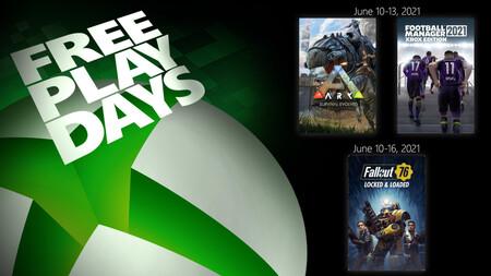 Fallout 76 y Football Manager 2021 entre los juegos que están para jugar gratis este fin de semana con Xbox Live Gold