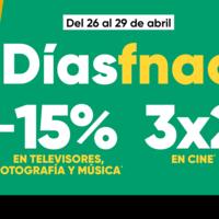 Días Fnac: hasta un 15% de descuento y 3x2 en cine y Funko