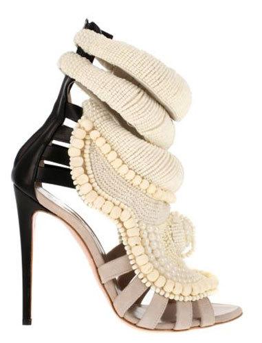 Los zapatos diseñados por Kanye West para Giuseppe Zanotti
