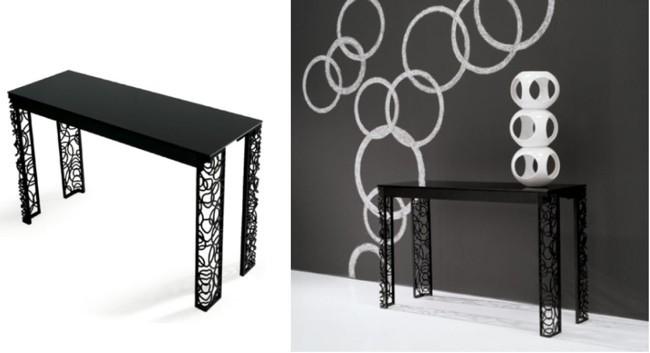 Foto de consolas que se convierten en mesas 1 4 - Consolas que se convierten en mesas de comedor ...