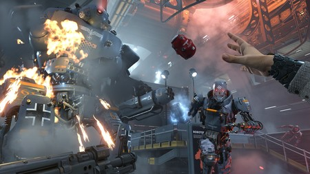 El principio de Wolfenstein II: The New Colossus, una de sus misiones y un jefe final en tres gameplay repletos de acción