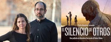 """""""El Silencio de Otros no es una película sobre el pasado sino sobre la lucha presente y el sufrimiento que existe ahora"""". Almudena Carracedo"""