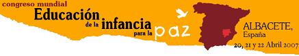 I Congreso Mundial Educación de la Infancia para la paz