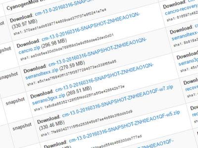 CyanogenMod 13 lanza su primera versión estable
