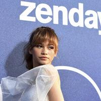 Zendaya enamora de blanco en la presentación de su última serie, 'Euphoria'