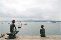 El monumento a los Raqueros de Santander