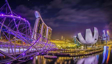 Puente Helix Singapur