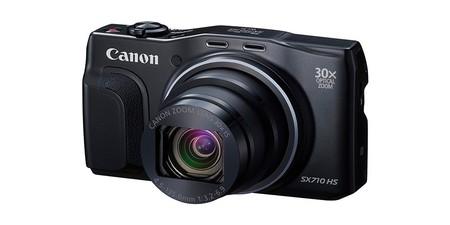 Si buscas una compacta con un gran zoom, la PowerShot SX710 HS de Canon cuesta hoy sólo 199 euros en Amazon