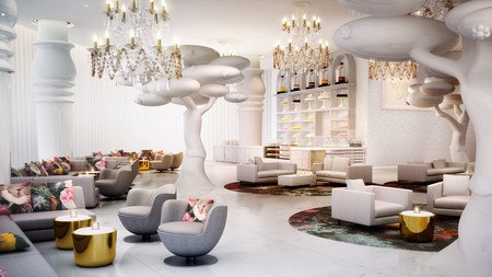 Nos fascina: Mondrian Doha Hotel, un hotel diseñado por Marcel Wanders