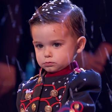 Hugo Molina y su tambor gana 'Got Talent' con tres años, y se abre el debate sobre la participación de niños tan pequeños en concursos