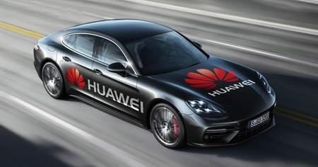 Un Porsche Panamera controlado por un Huawei Mate 10 Pro y un perro. Así demuestra Huawei lo que la IA puede hacer