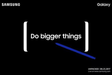 Es oficial: el nuevo Galaxy Note 8 se presentará el 23 de agosto