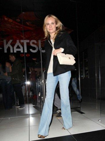 Diane Kruger Pantalón campana