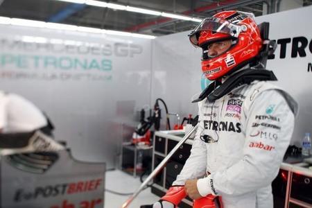Michael Schumacher vuelve a casa