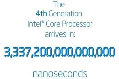Intel y los nanosegundos que restan para Haswell