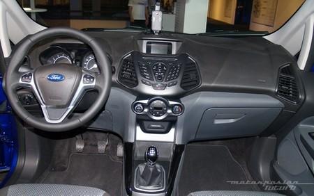 Ford EcoSport interior IFA 2013