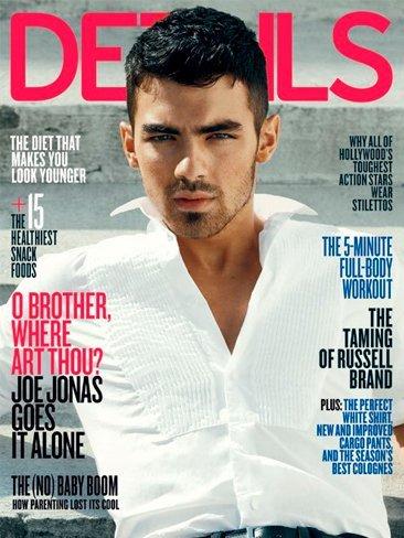 Otro signo del Apocalipsis: Joe Jonas tiene su aquél en Details