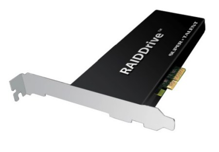Super-Talent RAIDDrive, con velocidades increibles de hasta 1.3 GB/s