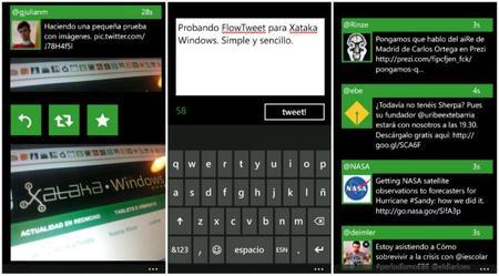 FlowTweet, el cliente de Twitter más minimalista para Windows Phone