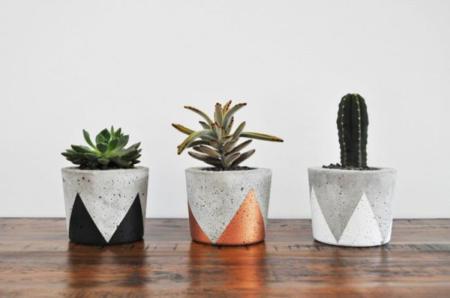 cinco materiales decorativos