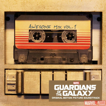 Guardians Of The Galaxy Ost Casette