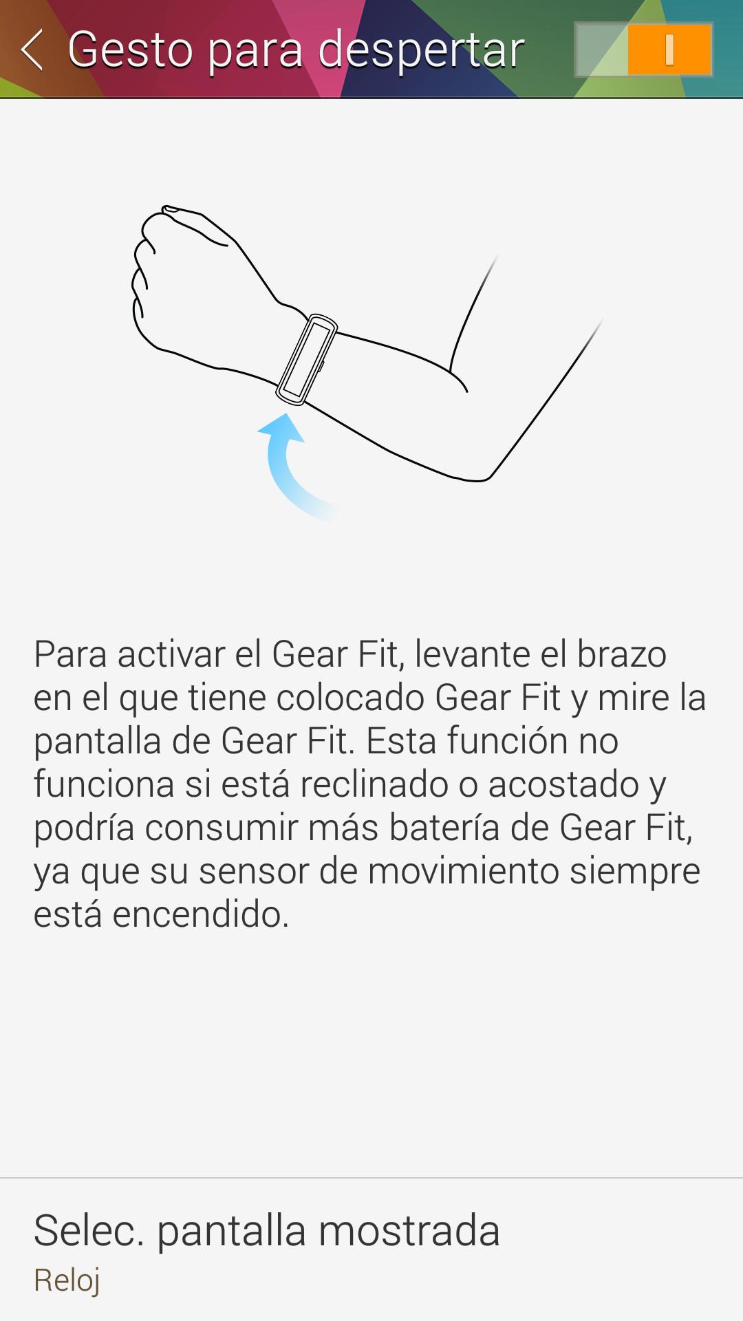 Foto de Capturas aplicación GEar Fit (9/18)