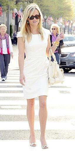 reese witherspooon vestido blanco