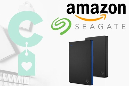 Discos duros portables Seagate en oferta en Amazon