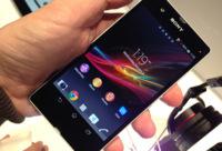 Sony Xperia Z, toma de contacto