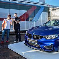 Marc Márquez estrena BMW M4 CS con su sexto título mundial de motociclismo