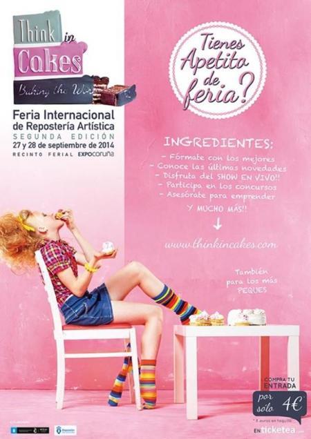 ¿Te gusta la repostería? No puedes perderte la cita más dulce del año con Think in Cakes en A Coruña